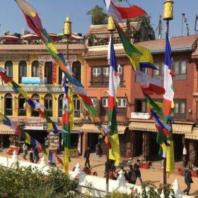 Boudanath, rundresa Nepal
