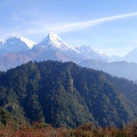 På vandring i Nepal