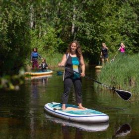SUP-paddling Dala-Floda