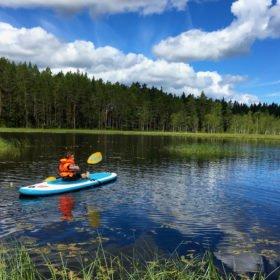 paddling i Dala-Floda