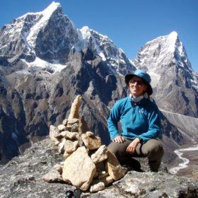 färdledare Inka på vår vandring till Everest Base Camp