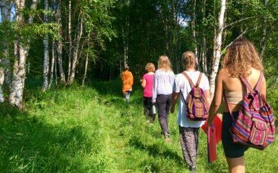 skogsbad i Dalarna