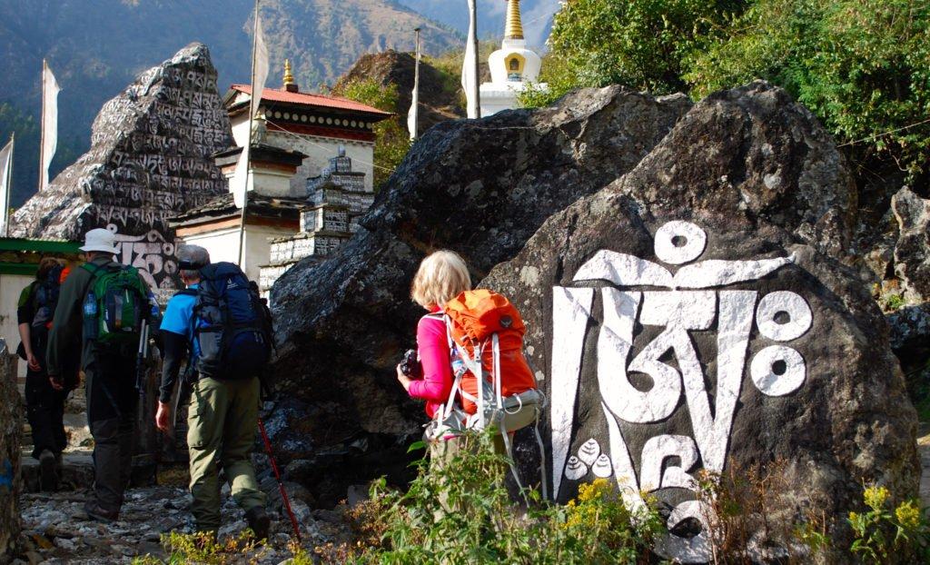 vandrare i Nepal