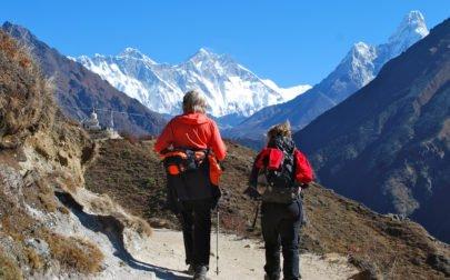 vandrare i Himalaya