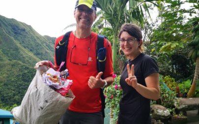 Erik Ahlström, färdledare plogga i Nepal