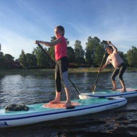SUP-paddling