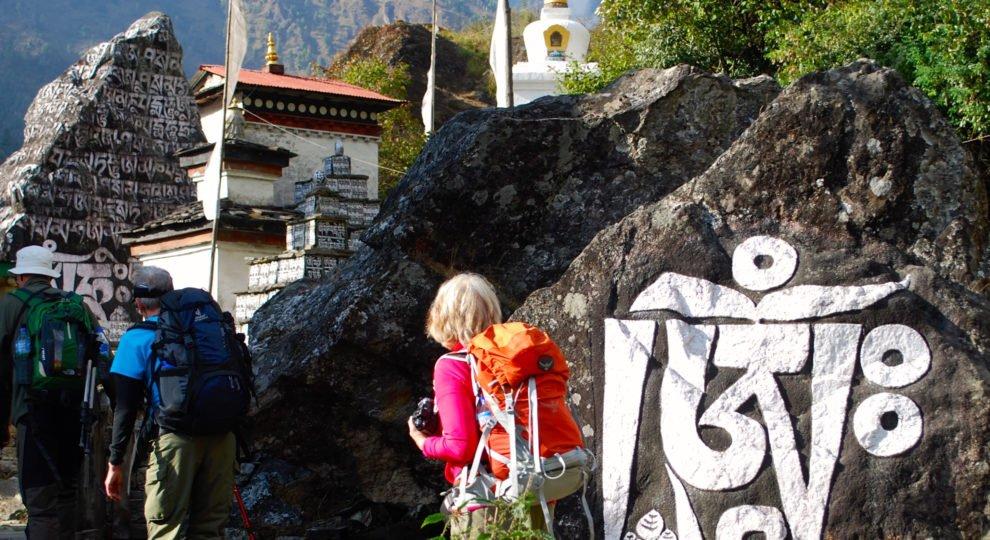vandring på resa i Nepal