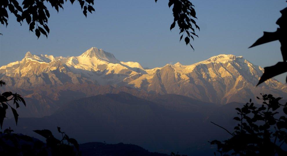 Annapurnabergen i Nepal