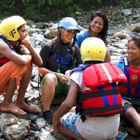Inka utbildar kvinnor i Nepal